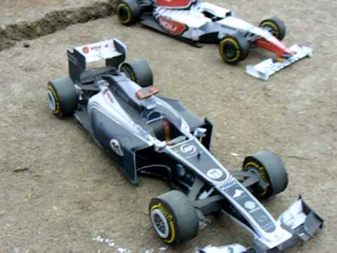 All f1 paper cars 2011