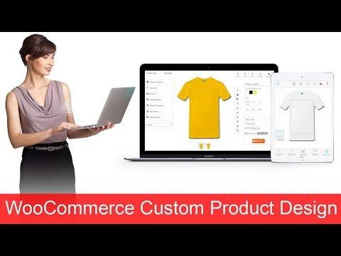 How to create woocommerce custom product design WordPress Design Plugin