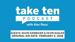Take Ten with Alex Roux: Tampa Bay Rays CF Kevin Kiermaier & Kevin Kugler (Air Date: February 2, 201