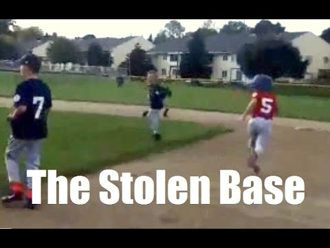 How to steal a base in Little League  - the delayed steal