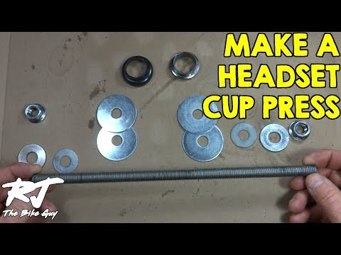 How To Make A Headset Cup Press/Install Tool