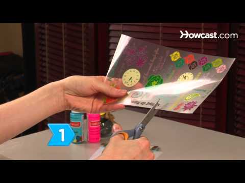 How to Use Rub-On Stickers in Scrapbooking