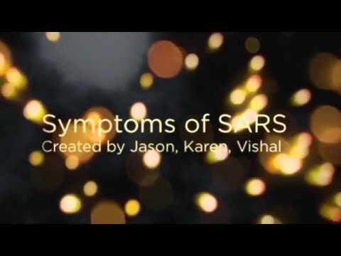 Symptoms of SARS