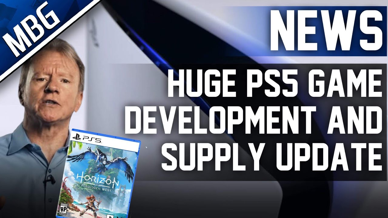 Sony Gives BIG PS5 Supply & Exclusive Game Development Update | Ps Plus Rumor And Future