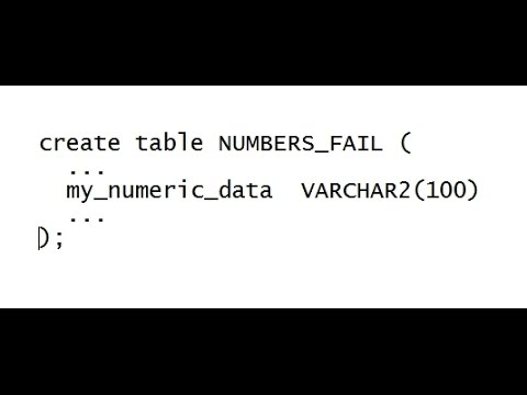We keep storing numbers in string datatypes