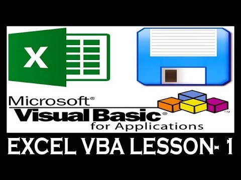 Lesson- 1 || Advance Excel VBA (MIS Project) || How To Active, Open,Write & Run VBA For Beginners