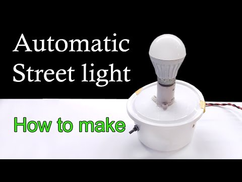 Automatic street light using LDR| How to make