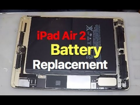 iPad Air 2 Battery Repair & Replacement.