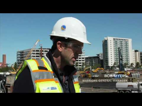 Touring The Warriors' New Arena Construction Site   ESPN