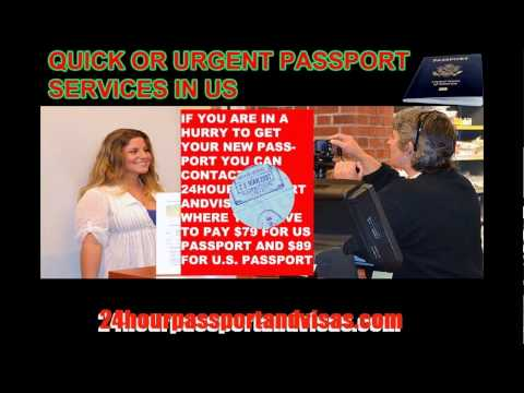 How to Get A New Passport Within 24 Hours in U.S.