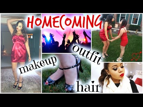Get Ready With Me ♡ Homecoming!   KrazyRayRay