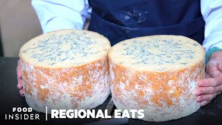 How Traditional English Stilton Cheese Is Made At A 100-Year-Old Dairy   Regional Eats