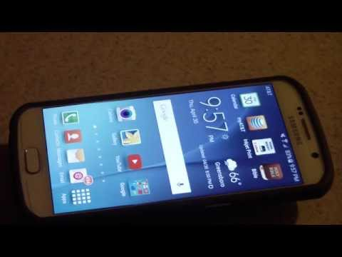 At&t Samsung Galaxy S6 White Pearl 64GB REVIEW NO CURVE