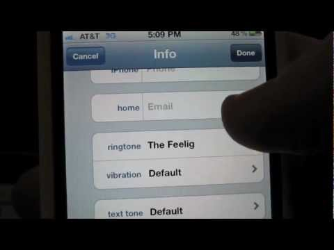 How to make a custom ringtone for someone calling on your iPhone: iPhone Tip