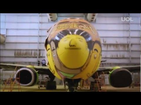 Best Painted Airplanes- Boeing 737/GOL | 2014-15