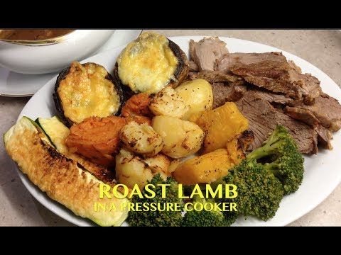 Roast Lamb in the Pressure Cooker cheekyricho Tutorial