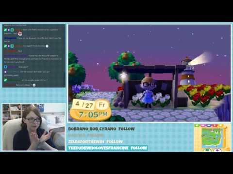 Animal Crossing New Leaf Welcome Amiibo Live Stream -April 27th, 2018