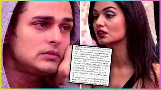 Priyank Sharma Emotional Letter For Ex - Girlfriend Divya Agrawal