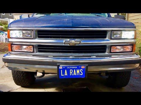 Headlight Replacement Chevrolet Truck 88-98