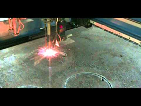 300mm Thick MildSteel Cutting