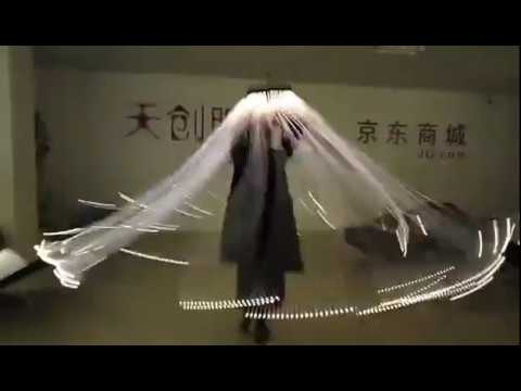 LED Luminous Jellyfish Dance Props for Event, Entertainment, Solo Performance, Show, Party, Talented