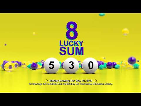 Tennessee Lottery Midday_C3_C4_LS 05/21/2018