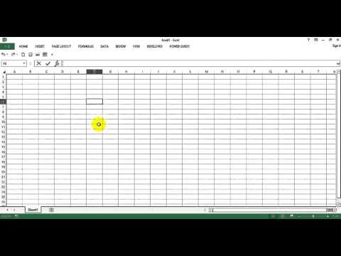 Excel Tips   Expand and Collapse Commnand Ribbon