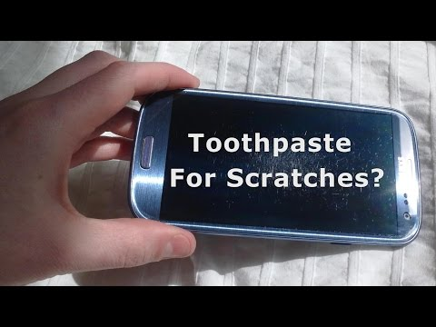 Can Toothpaste Remove Scratches on Phone Screens