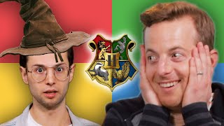The Try Guys Find Out Their REAL Harry Potter Houses