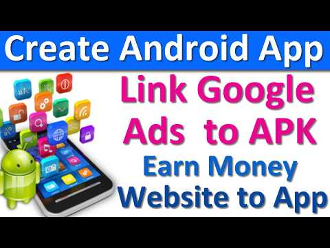 How to Link Google Ads to Android App in Hindi (Create Android Apps Free and Start Earning)