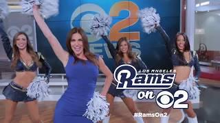 Rams On 2: Stephanie And The LA Rams Cheerleaders