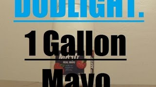 1 Gallon Mayonnaise Challenge (23,040 CALORIES) Dud Light. Mayo Beast.
