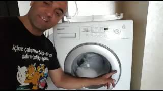 Download Samsung Çamaşır Makinesi WF7600NAV Çalışmıyor veya Başlamıyorsa. Video