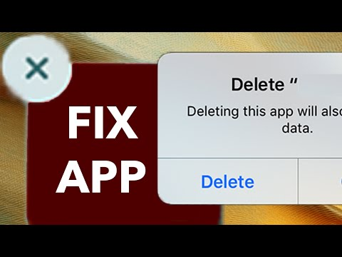 Last Option on How to fix an App that won't delete in iPhone, iPad and iPod touch