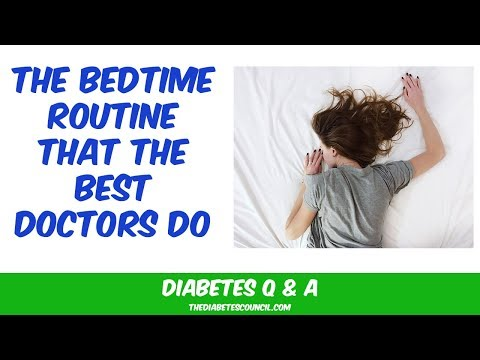 The Best Diabetic Bedtime Routine