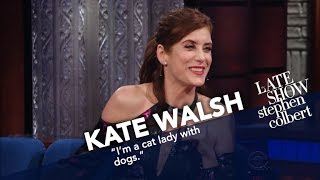 Kate Walsh Tries To Pinpoint Her Place On The Cat Lady Spectrum