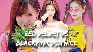 BLACKPINK (블랙핑크) & RED VELVET (레드벨벳) & TWICE (트