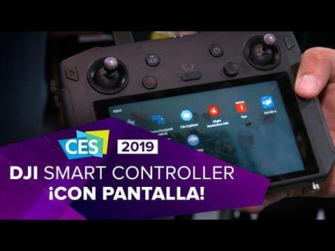 DJI Smart Controller: Un control con pantalla para tu dron DJI