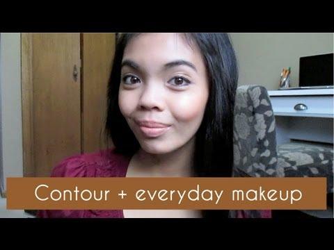 Contour + Natural Everyday Makeup