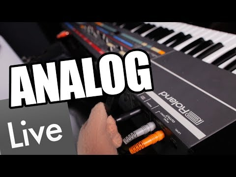 Analog Synths in Ableton 10 Tutorial