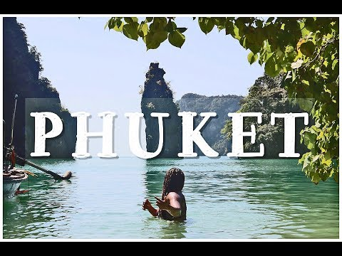 PHUKET TRAVEL VLOG KOH PHI PHI, James Bond Island, Patong Beach