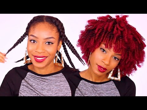 HOW TO SLAY A CROCHET WIG► RED X PRESSION HAIR $25 FT DIVATRESS