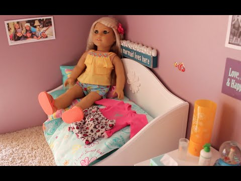 American Girl Aria's Bedroom!