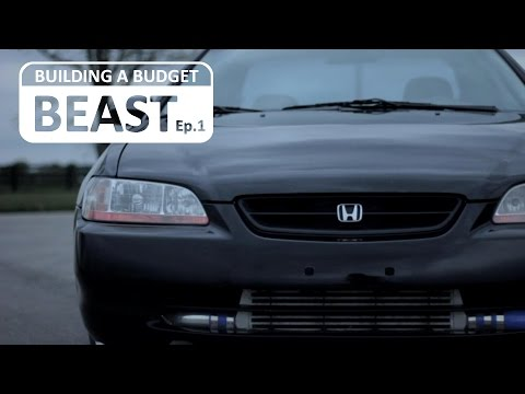 Episode 1 - Building A Budget Beast - Honda Turbo System Build Series
