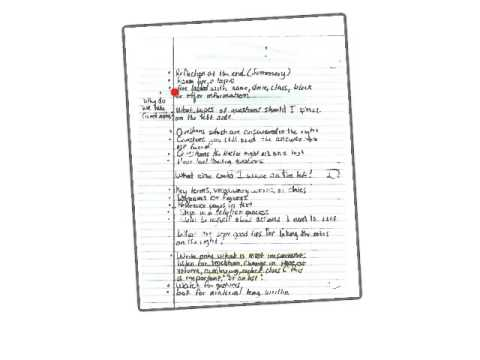 Example Cornell Notes Fall 2015