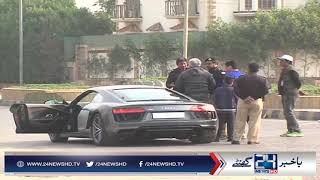 Collapse between Karachi police and citizen
