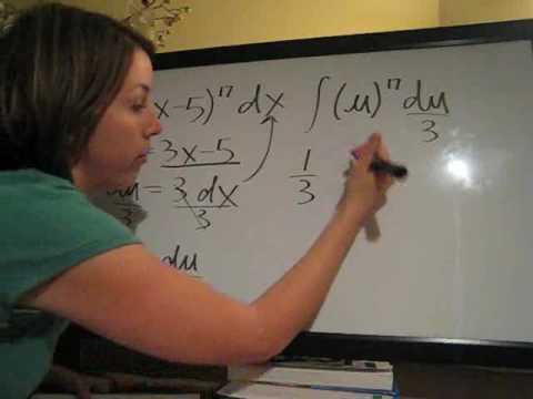 U-Substitution (KristaKingMath)