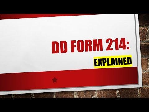 Explaining the DD214