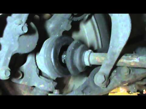 Honda Civic ball joint failure, torn CV boots