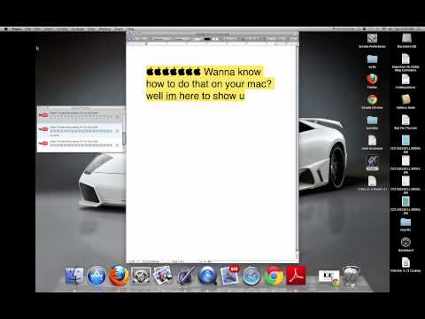 How To Make The  Symbol On Mac 